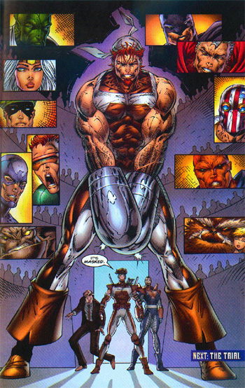 Well, you can tell it was *supposed* to look really spectacular before Liefeld drew it.